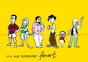 Little Miss Sunshine fan art by foolspot