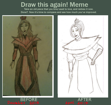 Before and after: Azara to Azar. by Korrontea