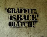 Graffiti is Back B by cheduardo2k