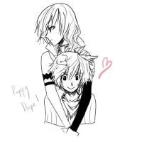 Lightning x Hope - Puppy Love? by Chiyoyo