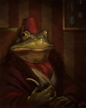 Eligible Bachelor Frog by Gorrem