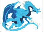 Ice Dragon by Azure-Dragon-Seiryu