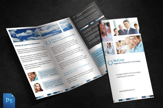 3 Fold Brochure Template by quickandeasy1