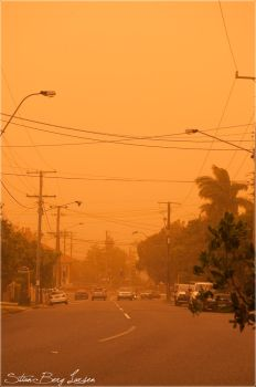 Brisbane - duststorm 3 by Stianbl
