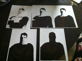 Man of Steel ITW by Stencils-by-Chase