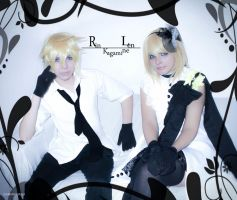 Len and Rin Camellia Version -01 by DamianNada