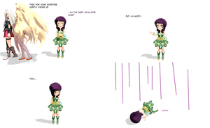 MMD COMICS- Poor Avanna by EggRin