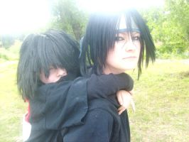itachi and sasuke brothers by mandychan00