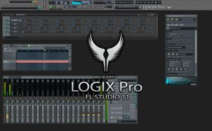LOGIX Pro : Skin for FL Studio 11 by malik-trey