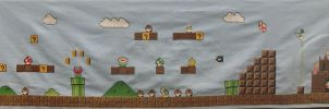 Huge Mario Cross Stitch- FINIS by sgoheen06