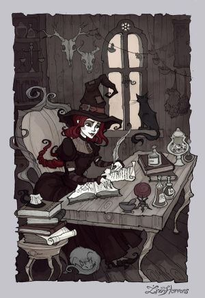 Little Witch by IrenHorrors