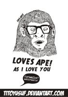 loves ape by titoyusuf