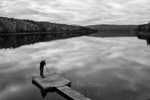 Photographer at Work BW-SCF3008 by detphoto