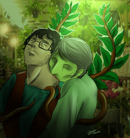 Hannibal AU - Little Shop of Cannibals by FuriarossaAndMimma