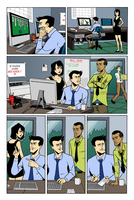 The Sundays page 5 colors by ScottEwen