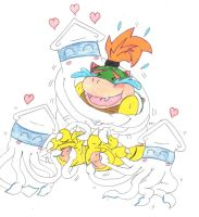 Bowser Jr. Tickle Torture Bloopers Love Tickling by KnightRayjack