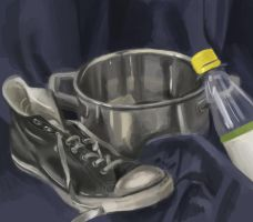 the still life that wouldn't by SylvesterHansen