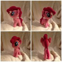 Mini Pinkie Pie Plush by Rainbow-Rocket