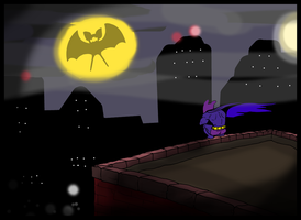 Zubatman by JHALLpokemon