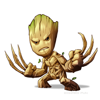 Groot by pungang