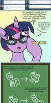 Female Shining Armor: Egghead Explains by Atomic-Chinchilla