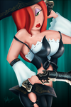 Jessica Rabbit Miss Fortune Crossover by SummonnerYuna