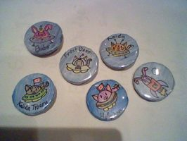 Lil UFO Badges Wave 1 by frostdemn