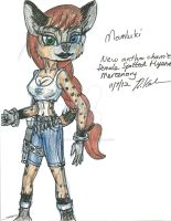 New char- Mamluki -NOT A SONIC FC- by Madame-Finitevus1890