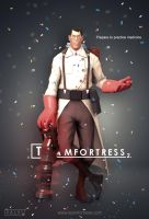 Team Fortress 2: Medic Poster [House] by KlausHeissler