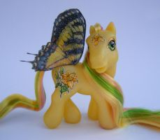 OOAK My Little Pony Lily by eponyart