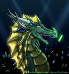Dolus at the rave by DragonCid