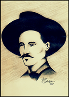 Doc Holliday Tombstone by james7371