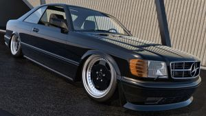 1991 Mercedes Benz 560 SEC AMG by SamCurry