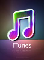 dock icon for iTunes by mustafahaydar