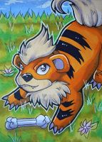 Growlithe's Playtime by NewtieNewt