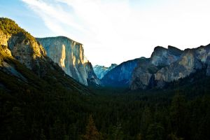 Yosemite Valley - Touristy Shot by BertLePhoto