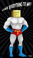 Powdered Toast Man!! by StingRoll