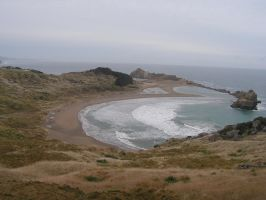 Castle Point The whole beach by Bruce8331