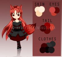 Fox Girl Adoptable Auction [CLOSED] by azuriin