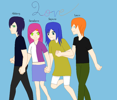 When we were young.. by MimitheEchidna1