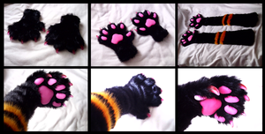Niebieskie Handpaws by CuriousCreatures