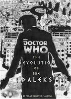 DOCTOR WHO- THE REVOLUTION OF THE DALEKS COVER by Esterath13