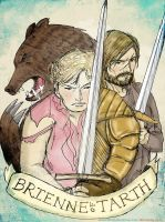 B.F.F - Brienne's Friend(?) and Foe by sketchditto