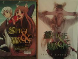 my spice and wolf manga by death-note-boy