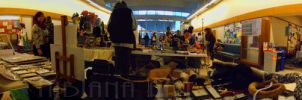 View from my Table at Tsukino Con 2014 by AxelOfArt