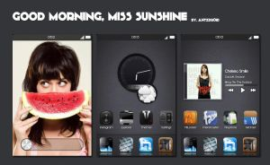 Good Morning, Miss Sunshine by antzdroid
