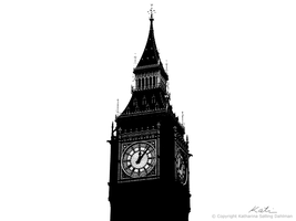 Big Ben in the old days 1.1 by NightMeadow