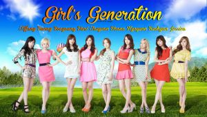 Girl's Generation For Lotte Departement Wallpaper by Chocoshim