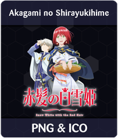 Akagami no Shirayukihime - Anime Icon by Rizmannf