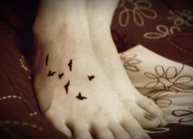 Blackbirds Tattoo 1 by Oiseauii